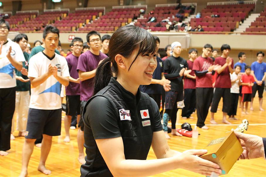 第42回全日本選手権大会 基本動作グランドチャンピオン 野村五月(高知県)